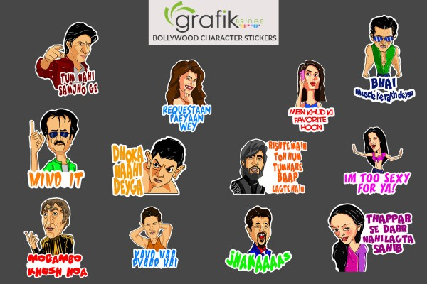Bollywood Stickers
